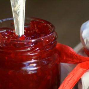 Рецепт джема из малины и персиков