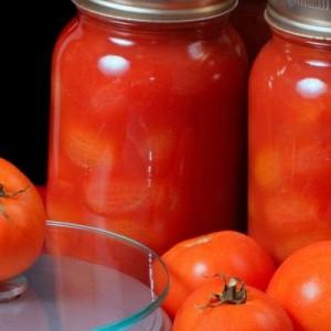 В собственном соку помидоры на зиму